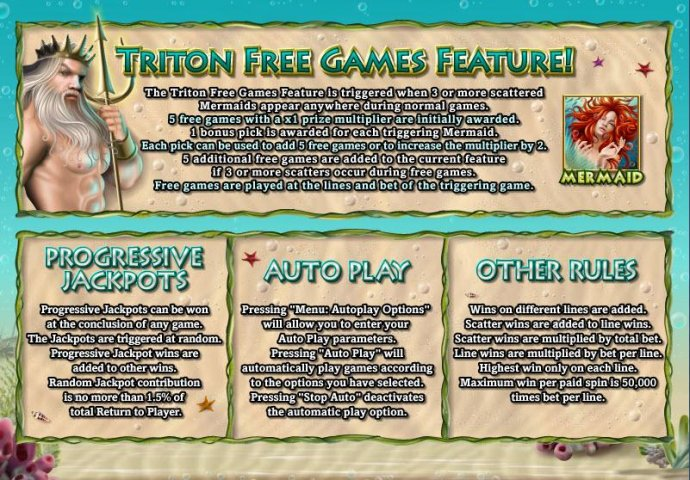 Triton's Treasure by No Deposit Casino Guide