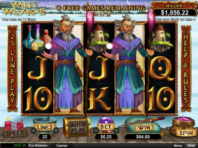 Wild Wizards by No Deposit Casino Guide
