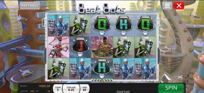 Beat Bots screenshot