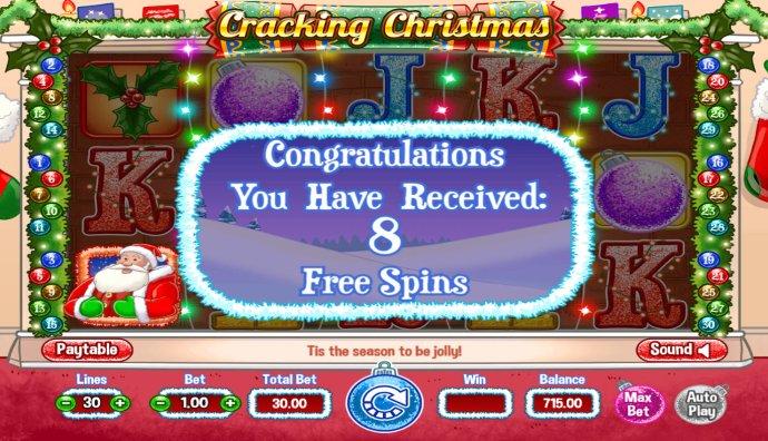 No Deposit Casino Guide image of Cracking Christmas