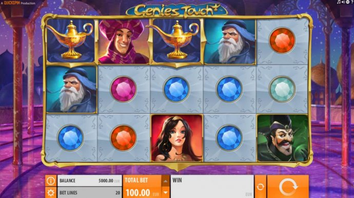 Genie's Touch by No Deposit Casino Guide
