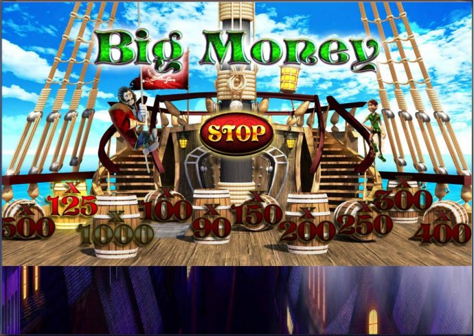 Big Money - click the stop to stop on one of the bet multipliers. - No Deposit Casino Guide