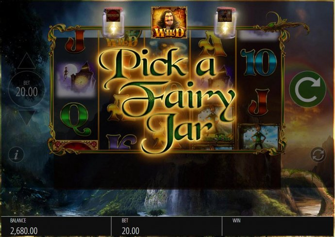 No Deposit Casino Guide - Select a jar and reveal a character wild that will be added to the reels.