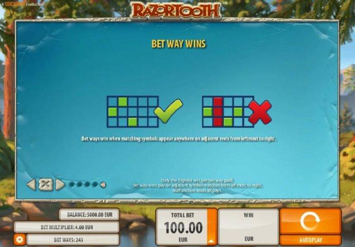 Razortooth screenshot