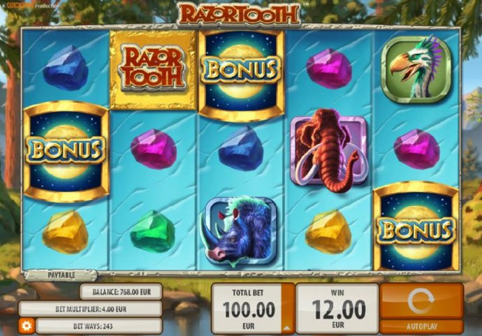 Razortooth by No Deposit Casino Guide