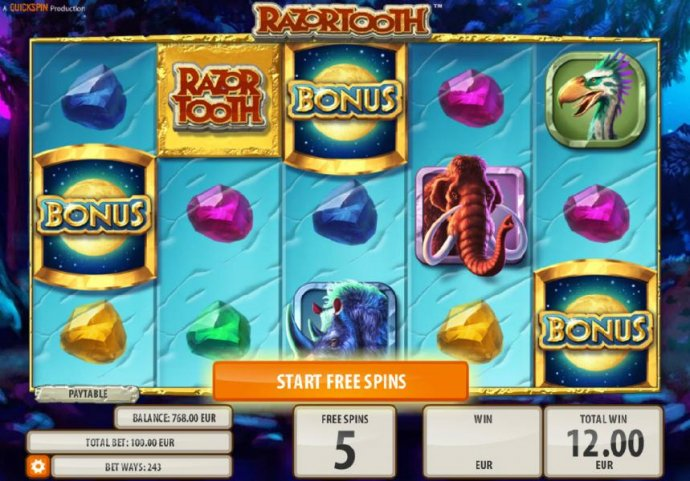 Razortooth screenshot