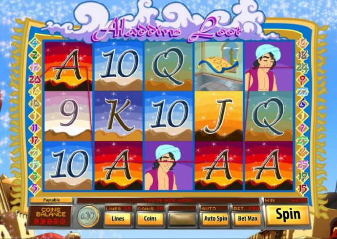 Aladdin's Loot by No Deposit Casino Guide