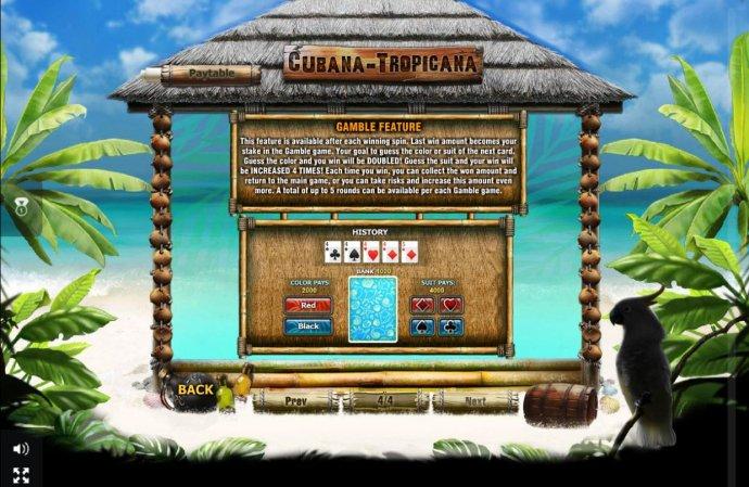 No Deposit Casino Guide image of Cubana-Tropicana