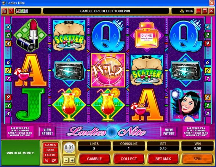 No Deposit Casino Guide image of Ladies Nite