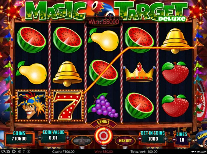 Magic Target Deluxe by No Deposit Casino Guide