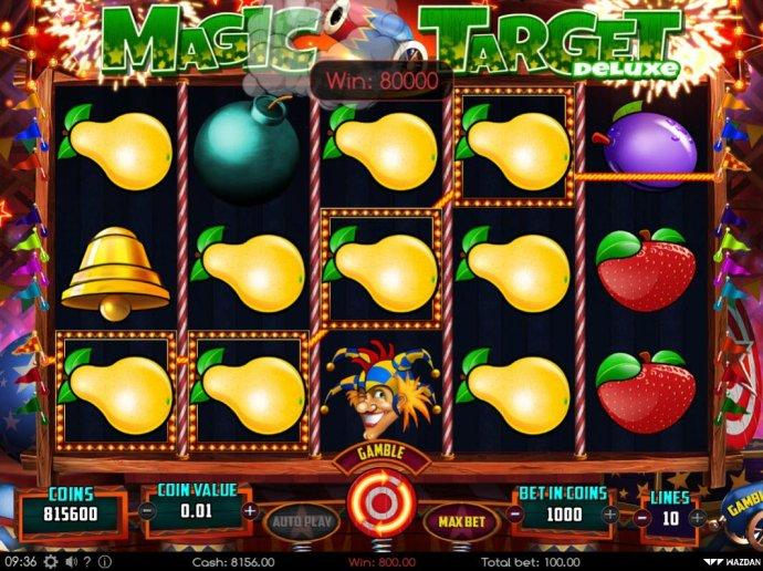 No Deposit Casino Guide image of Magic Target Deluxe