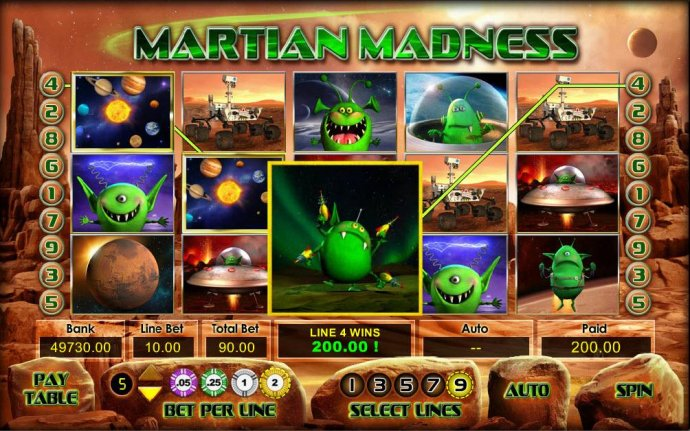 Images of Martian Madness