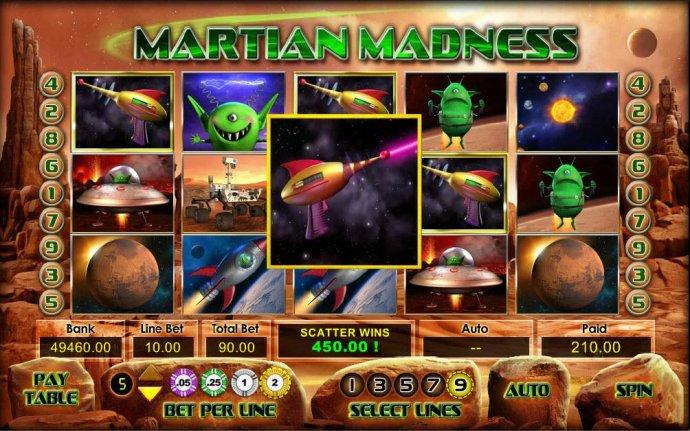 Martian Madness screenshot