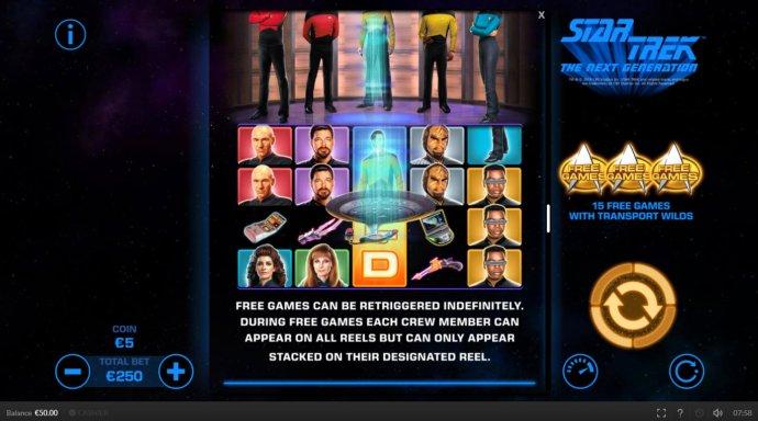 Star Trek The Next Generation by No Deposit Casino Guide