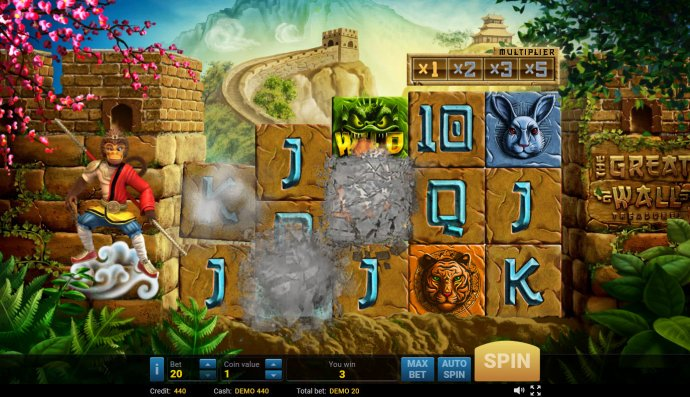 No Deposit Casino Guide image of The Great Wall Treasures