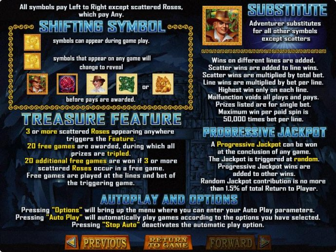 No Deposit Casino Guide image of Treasure Chamber