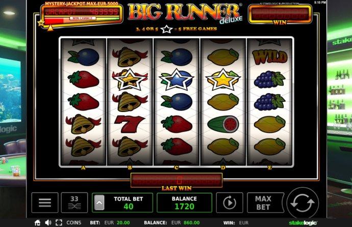 No Deposit Casino Guide image of Big Runner Jackpot Deluxe