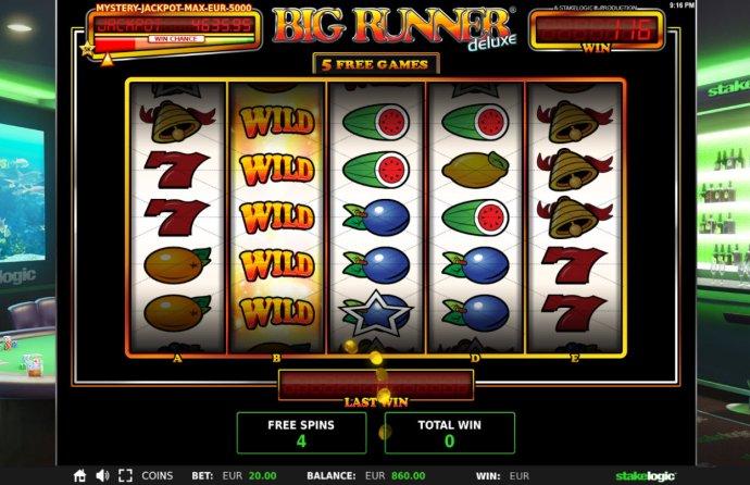 Big Runner Jackpot Deluxe by No Deposit Casino Guide