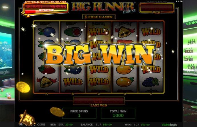 Big Runner Jackpot Deluxe screenshot