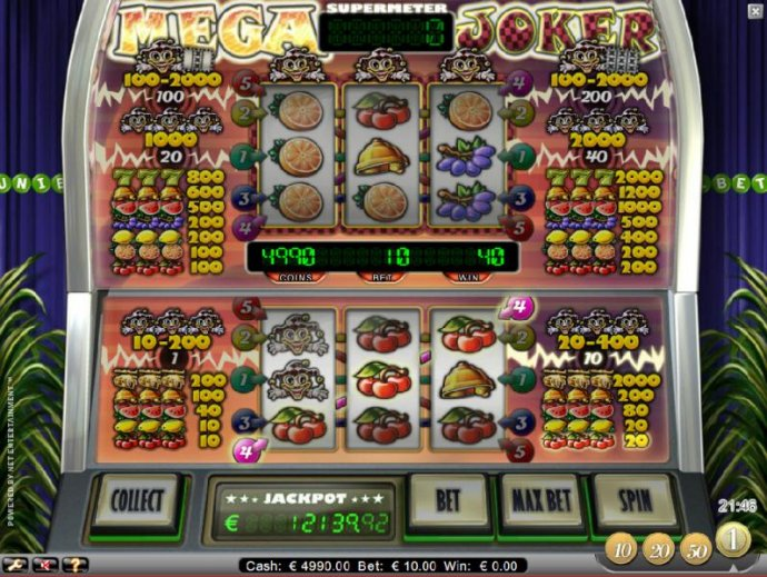 Mega Joker by No Deposit Casino Guide