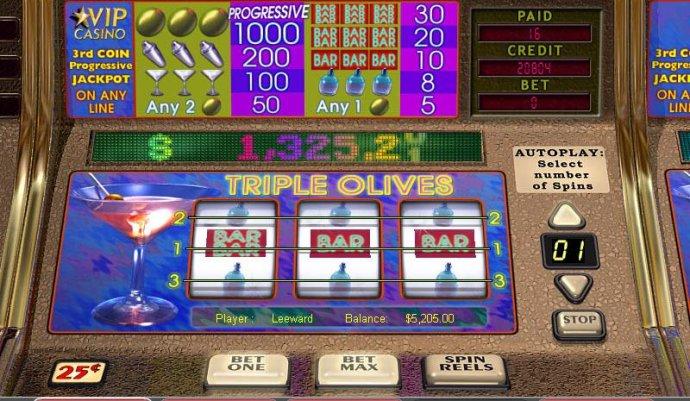 Triple Olives screenshot