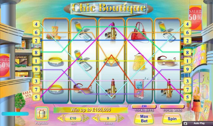 No Deposit Casino Guide image of Chic Boutique