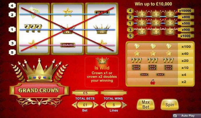 Grand Crown screenshot