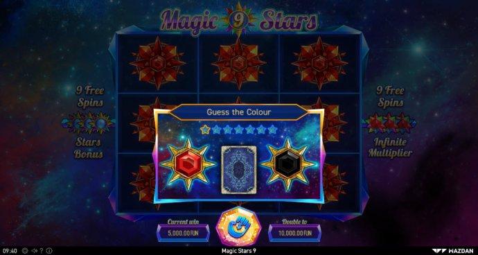 No Deposit Casino Guide image of Magic Stars 9