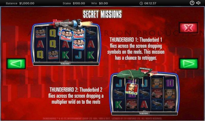 No Deposit Casino Guide image of Thunderbirds