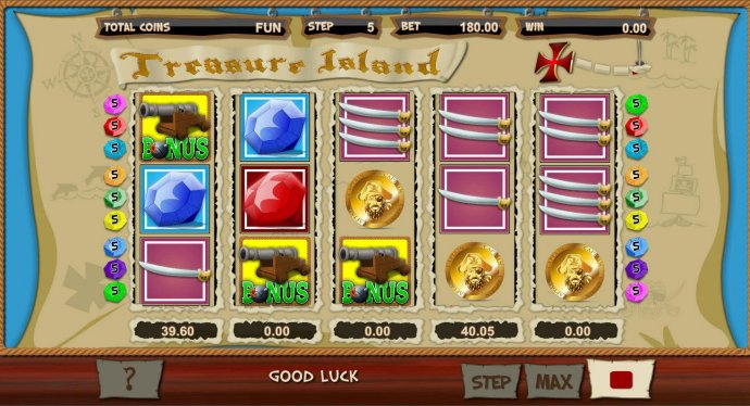 Treasure Island by No Deposit Casino Guide