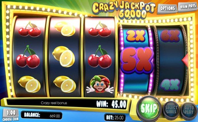 Crazy Jackpot 60,000 by No Deposit Casino Guide