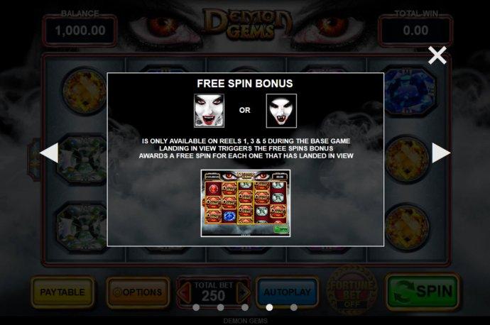 Demon Gems by No Deposit Casino Guide