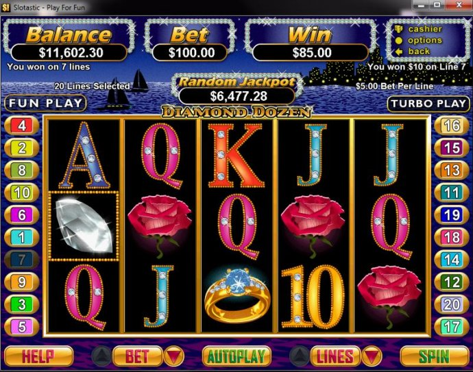 Diamond Dozen by No Deposit Casino Guide