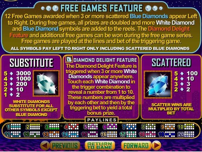 Wild, Scatter and Bonus Pays - No Deposit Casino Guide