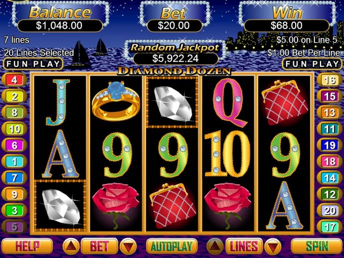 A pair of wild symbols triggers a three of a kind. by No Deposit Casino Guide