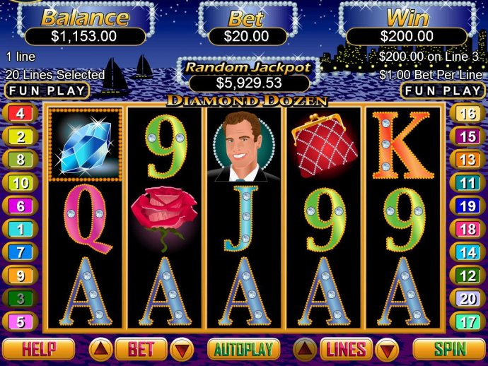 A winning Five of a Kind triggers a 200 coin pay out. by No Deposit Casino Guide