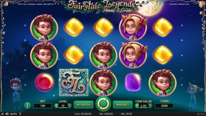 No Deposit Casino Guide image of Fairytale Legends Hansel & Gretel