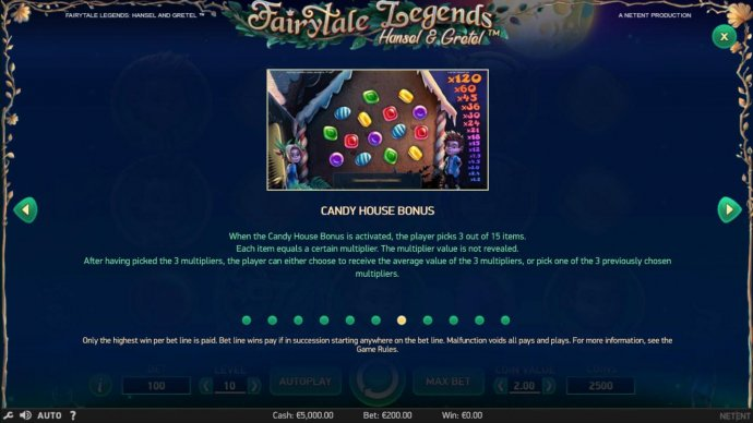 Candy House Bonus Rules - No Deposit Casino Guide