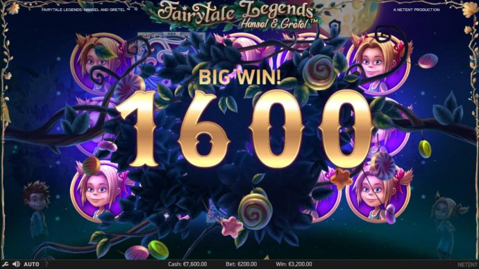 No Deposit Casino Guide - A 1600 coin big win si triggered by the Bonus feature.