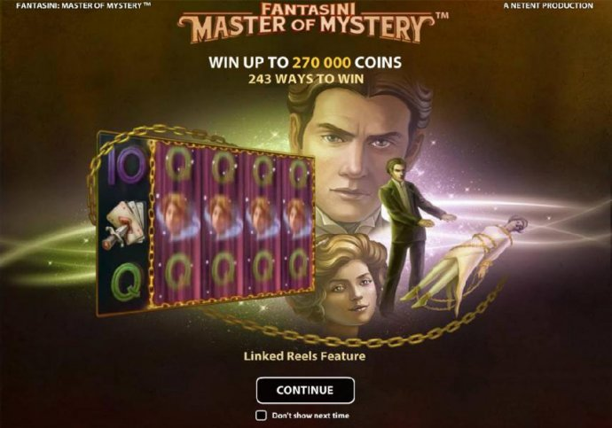 No Deposit Casino Guide image of Fantasini Master of Mystery