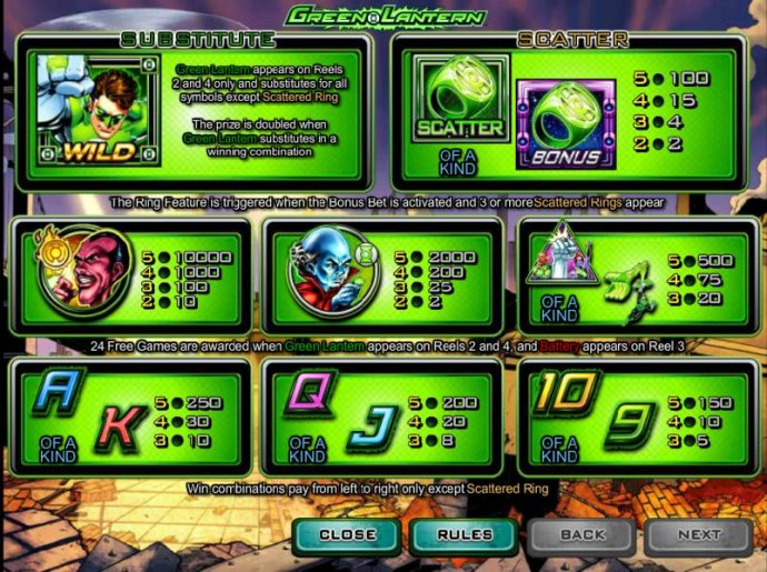 Green Lantern screenshot