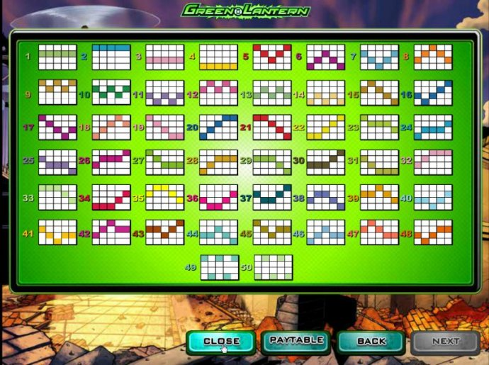 50 paylines layout configurations - No Deposit Casino Guide