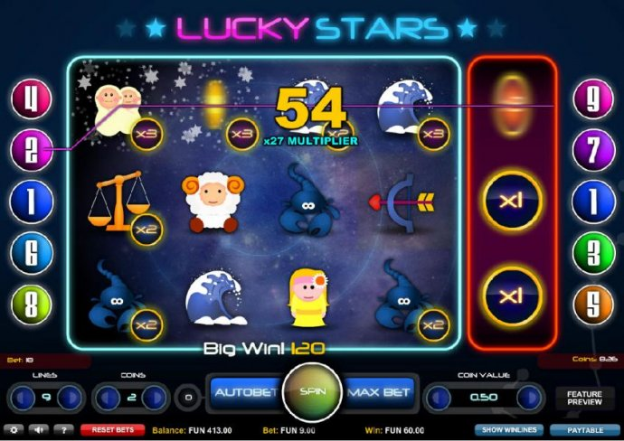 Lucky Stars screenshot