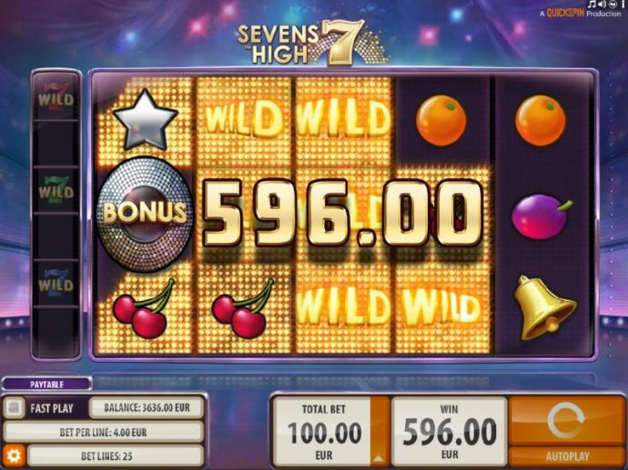Multiple wild symbols trigger multiple winning paylines and a big win! - No Deposit Casino Guide