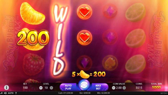 No Deposit Casino Guide image of Berry Burst Max