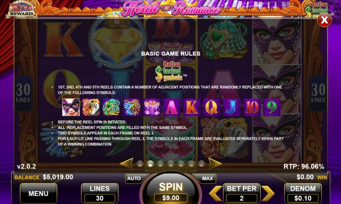 Heart of Romance by No Deposit Casino Guide