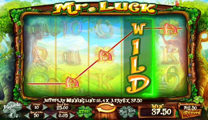 No Deposit Casino Guide image of Mr. Luck
