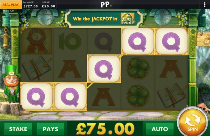 No Deposit Casino Guide image of Paddy Power Gold