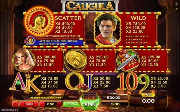 Caligula screenshot
