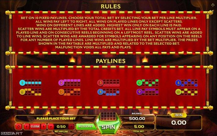 No Deposit Casino Guide image of Caligula